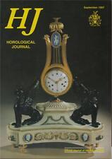 Horological Journal 139/9 Daniels Escapement. Clapham's Clock Museum. B8.1312