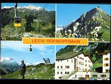 ARLBERG & VORARLBERG / LECH-RUFIKOPFBAHN (AUTRICHE) RUFIKOPF-SEILBAHN en 1985