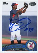 2011 Topps Pro Debut FELIX STERLING Signed Card INDIANS rc auto SANTO DOMINGO DR