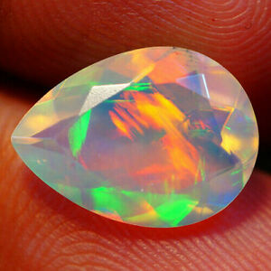 Chaff Pattern 2.15 Carats Natural 12x9 Rainbow OPAL Multi Flashing for Set PEAR