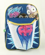 """New FanBoy and Chum Chum Large Backpack  Full Size 16""""  Girls School Backpack"""