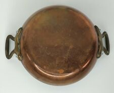 Vintage Copper French Chef Sauce Pan Mad In France