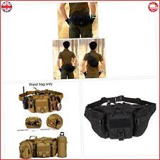 Huntvp Tactical Bumbag Molle Military Waist Bag Large Waterproof Fanny Pack Bum
