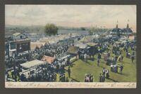 [71802] 1907 POSTCARD DANBURY FAIR GROUNDS, DANBURY, CONN.