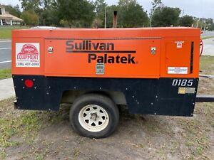 Sullivan Palatek 185 CFM Tow-able Air Compressor