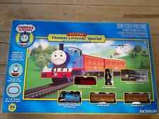 Deluxe Thomas with Annabelle and Clair belle, electric train set + other friends