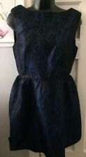 Evening/Prom Dress By Glamorous Size 10 Blue/black Lace New With Tags