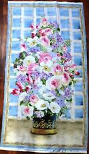 A BREATH OF SPRING FABRIC BEAUTIFUL FLOWERS FABRIC Wilmington PRINTS BTP NEW
