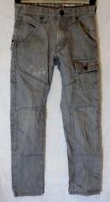 Boys Next Signature Mid Grey Denim Cargo Utility Relaxed Fit Jeans Age 11 Years