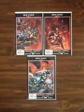 New X-Men #44,45,46 VF (Messiah Complex,X-23,David Finch covers).