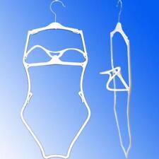 HG-016 5 PCS White Economy 3D Plastic Frame Swimsuit, Bikini, Lingerie Hanger