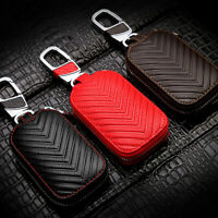 Mini Car Zipper Key Chain Bag Wear Protection Keyring Holder Cover Accessory