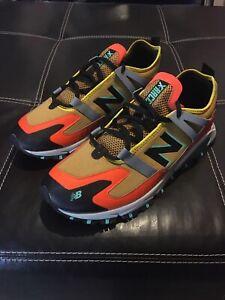 New Balance X-Racer Energy Lime Team Orange Running Shoes MSXRCTWC Men's Size 13