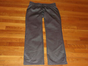 UNDER ARMOUR STORM DARK GRAY SWEATPANTS WOMENS XL EXCELLENT CONDITION