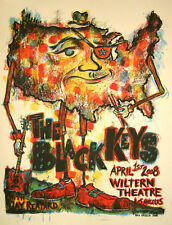 The Black Keys Concert Poster - Dan Grzeca - Limited Edition of 475