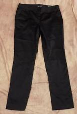 AMANDA + CHELSEA~Sz 8~NWT~Black Dress Pants~Contemporary Fit~Narrow Leg