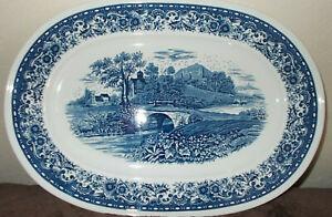 große Platte Villeroy & Boch Blue Castle 41 cm