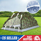 1-2 Person Outdoor Camping Waterproof 4 Season Family Tent Camouflage Hiking USA