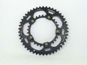 bikinGreen CNC Road Chainring 46/30T BCD 110mm 5 Bolts 10/11 Speed Cyclocross