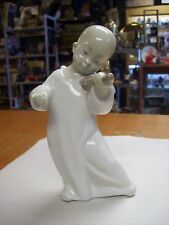 RETIRED LLADRO PORCELAIN ASIAN CHILD PLAYING THE VIOLIN #4536