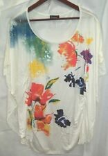Polyester Floral Regular Size Tops & Blouses for Women