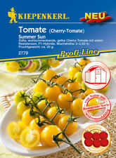 Cherry- Tomate Summer Sun  F1 Resistente  gelbe Sorte Samen 2779