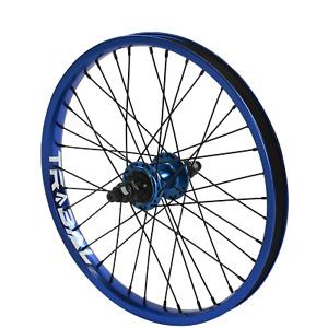 "Tribal BMX Rear Wheel 20"" Rim - 9 Tooth Cassette Hub - Blue"