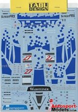 1/24 1997 McLaren F1-GTr #27 Parabolica FIA-GT decal set by TABU~ 24041 1:24th