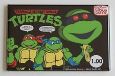 Ninja Turtles Ice Cream FRIDGE MAGNET (2 x 3 inches) sign teenage mutant bar