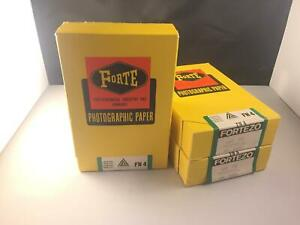 3 Packs Forte FN4 Total 300 Pieces Photographic Paper 9x14 --EXAMPLES--