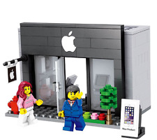Apple New  Rare Iphone Ipod Shop Display City Set Compatible with LEGO