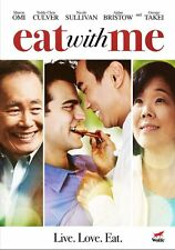 Eat With Me SCREENER DVD No Case - George Takei - Wolfe Video - Gay Comedy