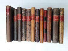 lot de 12 volumes reliés auteurs et éditeurs différents années 1920-1930