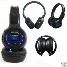 Wireless Bluetooth Music Stereo Headphone Headset With Call Mic Microphone FM SD