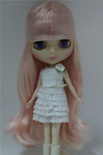 """12"""" Neo Blythe Doll Pink Hair Nude Doll  from Factory JSW4006"""