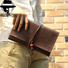 Black Men's Clutch Handbag Korean Envelope Bag Man Womens File Package