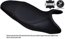 Agarre De Carbono D Rojo DS St Personalizado se ajusta a Triumph Street Triple 675 07-12 Cubierta de asiento