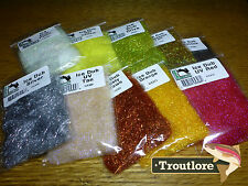 Hareline Ice Dub Fly Tying Materials Assorted Colors ICE282 Peacock