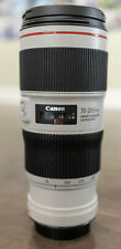 Canon EF 70–200mm f/4L IS II USM Camera Lens Used Excellent Condition