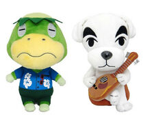 NEW KK Slider & Kapp'n Stuffed Plush Toy (Set of 2) USA Animal Crossing New Leaf