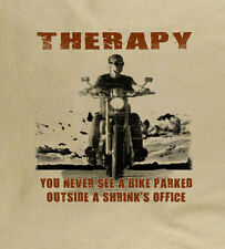 THERAPY You won't see a moto motero Camiseta Regalo Ideal moto bicicleta