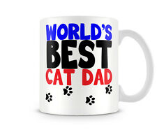 DAD_068 WORLD'S BEST CAT DAD mug