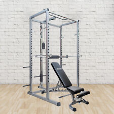 Power Rack w/Incline Bench,Two In 1,Squat Cage,Home Gyms