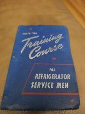 Simplified Training Course For Refrigerator Servicemen Manual Hvac Refrigeration