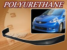 FOR 07-08 HONDA FIT T-R POLY URETHANE PU FRONT BUMPER LIP SPOILER BODY KIT
