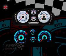 Mitsubishi FTO km/h auto / manual speedo dash panel lighting upgrade dial kit