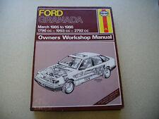 Ford Granada, Ghia & Ford Scorpio 1.8 2.0 2.8 Haynes Workshop Manual no.1245