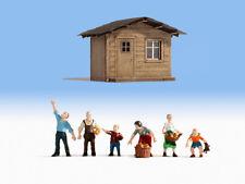 Noch 12035 échelle H0, figurines JARDINS FAMILIAUX # Neuf Emballage d'origine ##