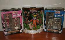 NARUTO Mattel SDCC Exclusive Naruto Figure ~ Sakura & Sasuke ~ Figures