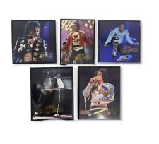 Lot of 5 Michael Jackson In Concert Picture Frame